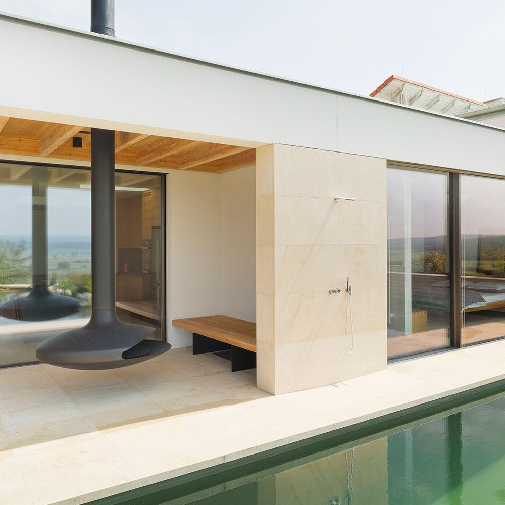 Pronaturstein Österreich - Ein Haus mit Weitblick - ein Projekt von Gustav Hummel