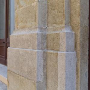 ProNaturstein - Vereinigung Österreichischer Natursteinwerke - Praterstraße - Steinsichtig wie im Originalzustand - ein Projekt von Schreiber & Partner Natursteine